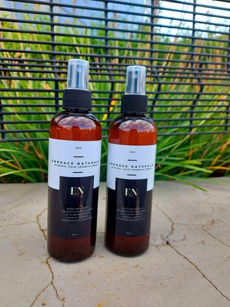 Mineral hair growth spray picture