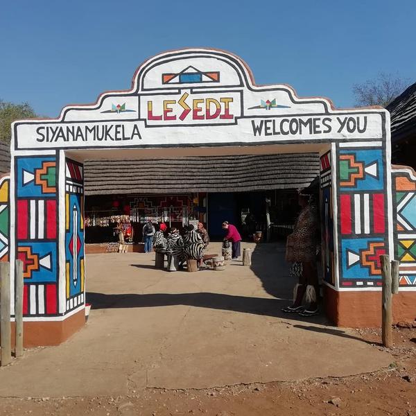 Lesedi cultural village picture