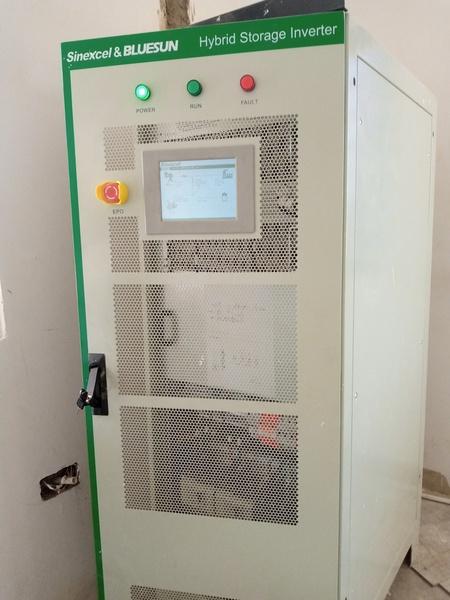 Hybrid storage inverters picture