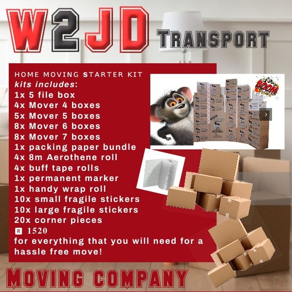 Home moving starter kits picture