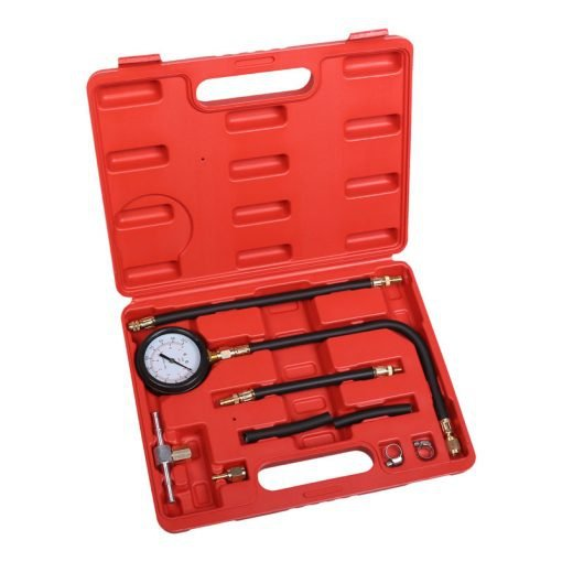 Fuel pressure tester for petrol engine picture
