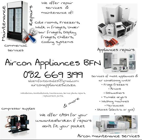 Aircon maintenance services picture