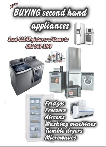 Buying second hand aircons & appliances picture