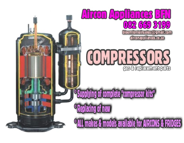 Compressor kits & Replacement part services picture
