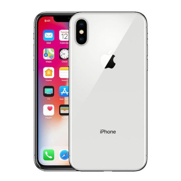 Apple - iphone xs 64gb - silver picture