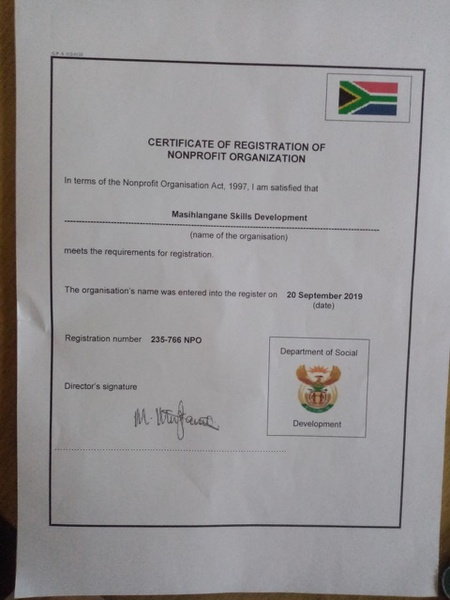 Certificates for npo picture