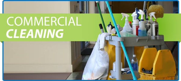 Commercial cleaning service picture