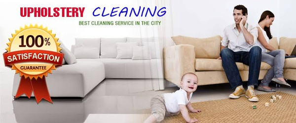 Upholstery cleaning picture