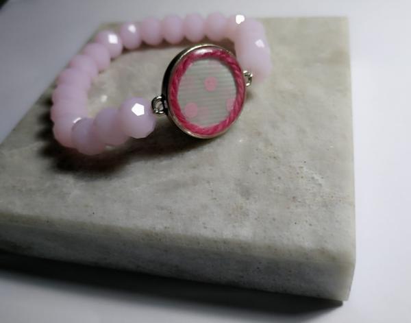 Cotton candy bracelet picture
