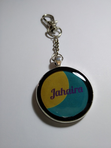 Jahaira key holder picture