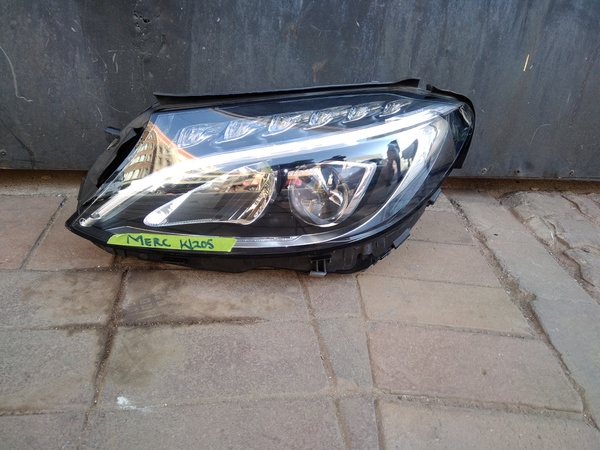 Mercedes w205 headlight for sale picture