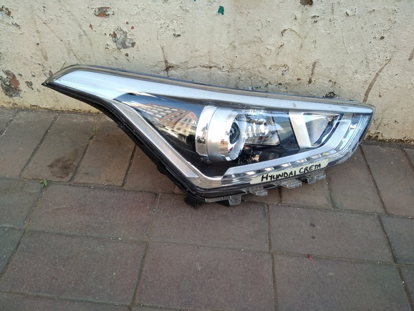 Hyundai creta headlight picture