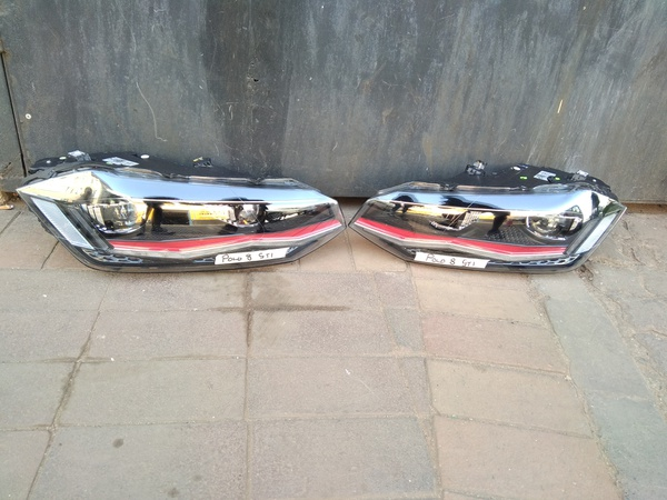 Polo 8 gti headlights picture