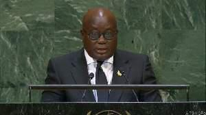 Nana akkufo addo's full speech at the  un general assembly. picture