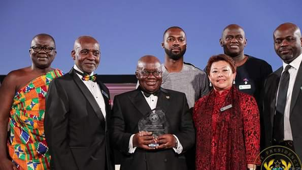 Nana addo  receives 2019 focos humanitarian award. picture