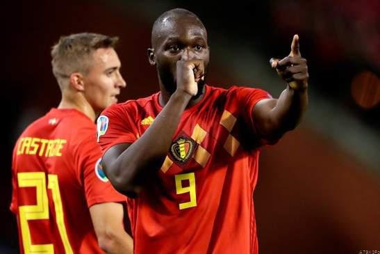 Belgium thrash san marino;become 1st team to qualify for euro 2020. picture