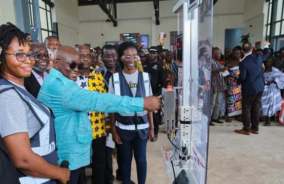 Ghana launches  second drone delivery base at asante mampong- picture