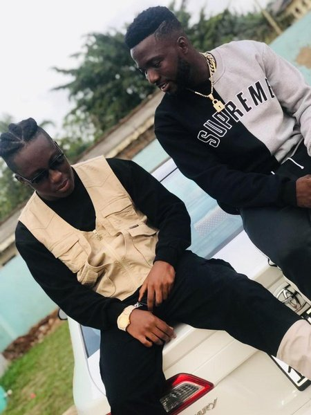 Kojo luda is cooking something hot. picture