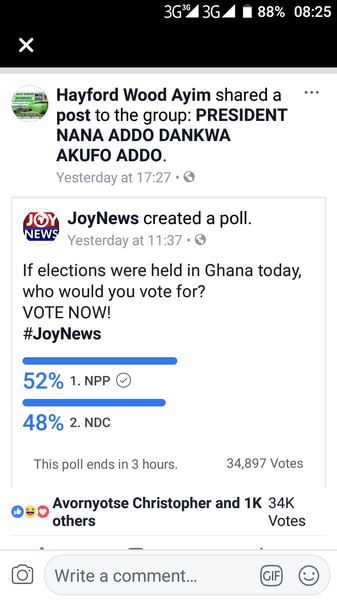 The current state of joynews online voting picture
