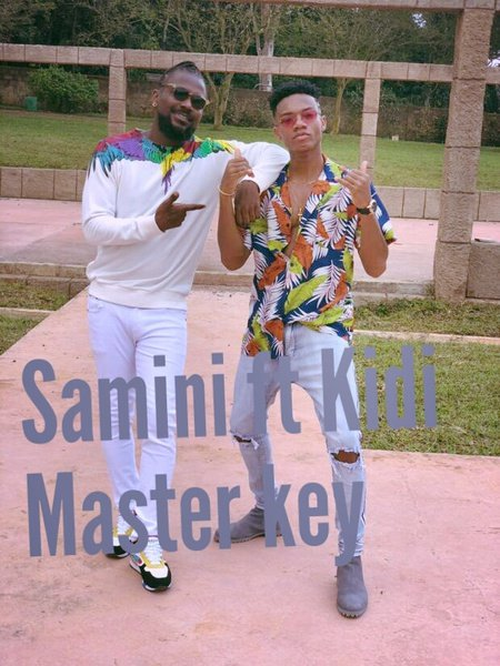 Samini ft kidi , master key picture