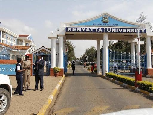 Kenyatta university closed indefinitely following students unrest- picture